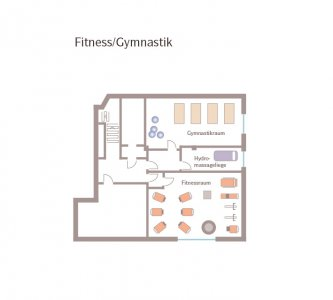 Fitness-and Gym at Wellnesshotel Reppert
